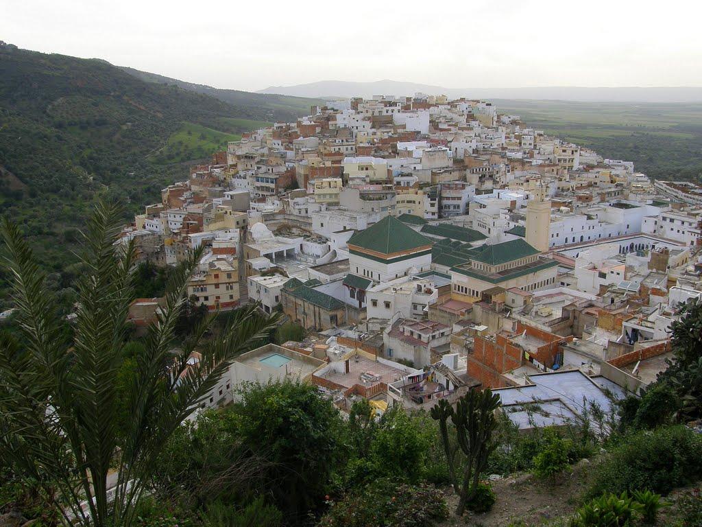 Moulay Idriss Zerhoun - poutní místo (place for pilgrimages)